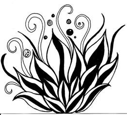 lotus flower line drawing cliparts co