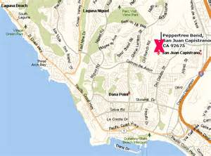 capistrano california map peppertree bend real estate homes for sale recent sales