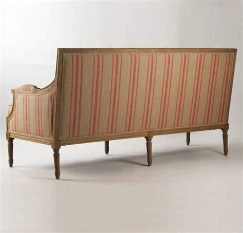 Red Stripe Sofa