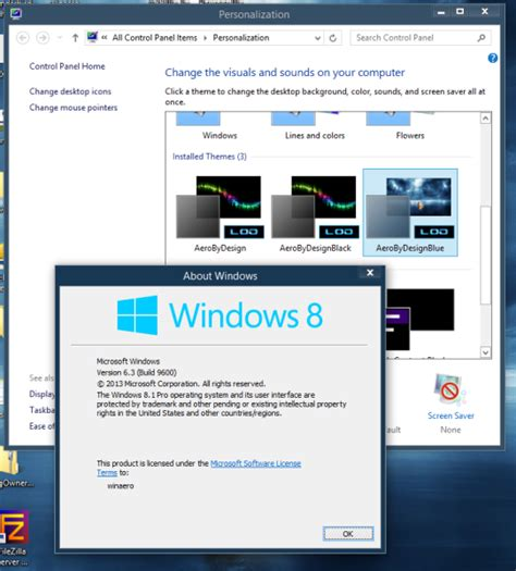 visual themes for windows 8 1 how to install and apply third party themes in windows 8 1