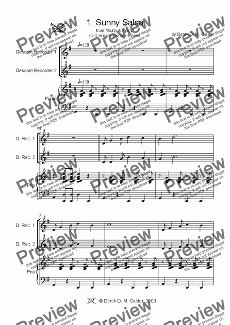skye boat song descant suite spicy complete