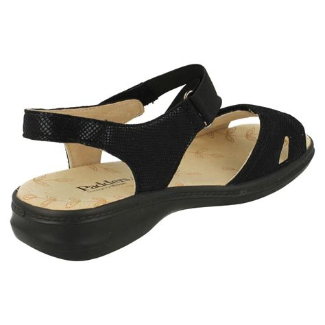 large sandals padders wide fit sandals louise ebay