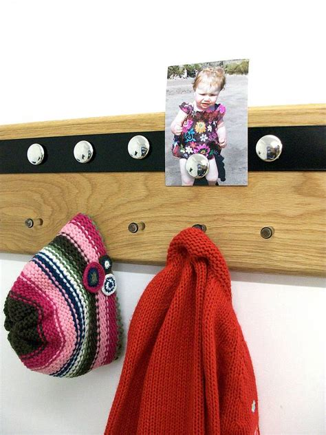 Magnetic Coat Rack by Magnetic Notice Board And Coat Rack By Mijmoj Design