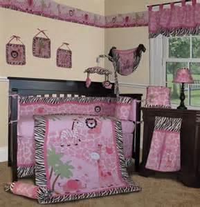 Pink Baby Bedding Set Sisi Baby Bedding Pink Safari 13 Pcs Crib Nursery Bedding Set Baby Bedding Center