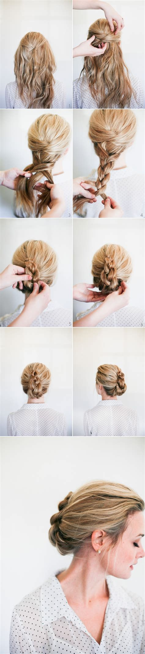 Wedding Hairstyles Tutorials by Braid Hair Tutorials 12 Ways To Braid Your Hair