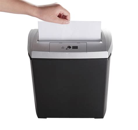 home paper shredders bonsaii docshred s170 8 sheet strip cut paper shredder