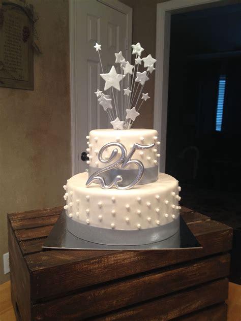 25th wedding anniversary cake silver letthemeatcakepvilleal let them eat cake 25th wedding