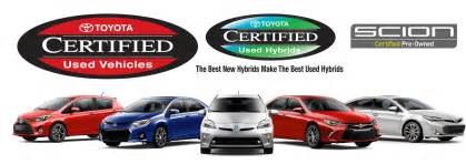 Used Certified Toyota Toyota Certified Used Vehicles Available At Sheehy Toyota