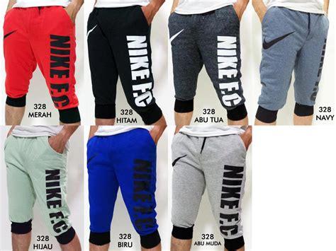 Celana Pendek Jogger Sweatpants 34 Nike jual celana jogger nike 328 celana sport 3 4