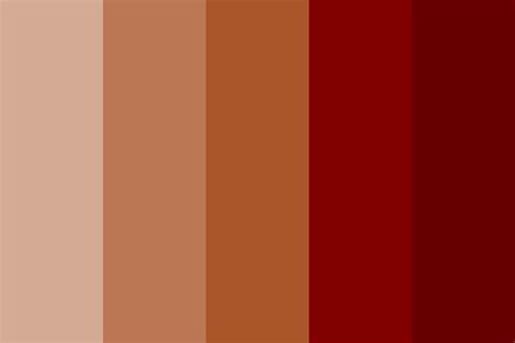 color shades siyona bronze color palette