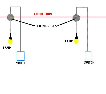 lighting circuit lighting circuits light fitting