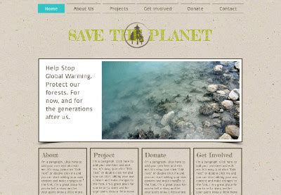 templates for ngo websites non profit organization templates