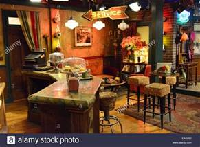 Warner Brothers Studio Friends Set warner brothers set for friends central perk bar stock