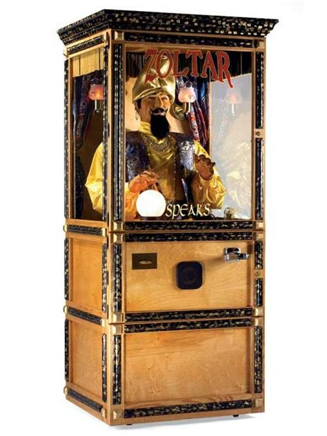 Zoltar A Novelty That Tells Your Fortune And Costs A Small Fortune by Zoltar Animatronic Fortune Teller Machine