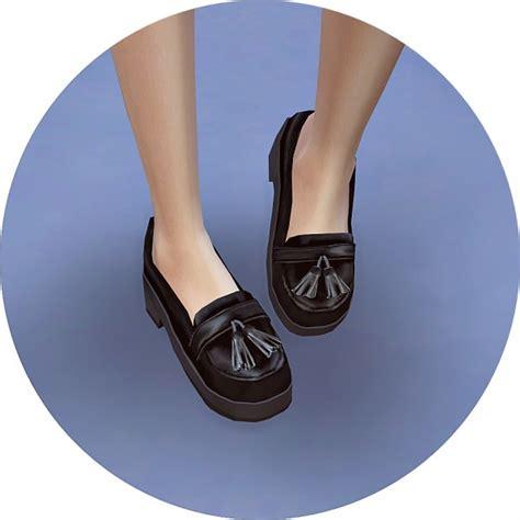 sims 4 platform heels sims4 marigold tassel platform heels sims 4 downloads