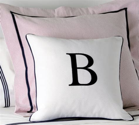 monogrammed bed pillows monogrammed pillow decorative monogrammed pillows