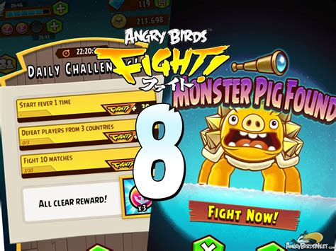challenge fight angry birds fight daily challenges and