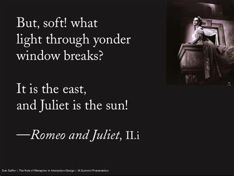 Metaphors In Romeo And Juliet Quotes