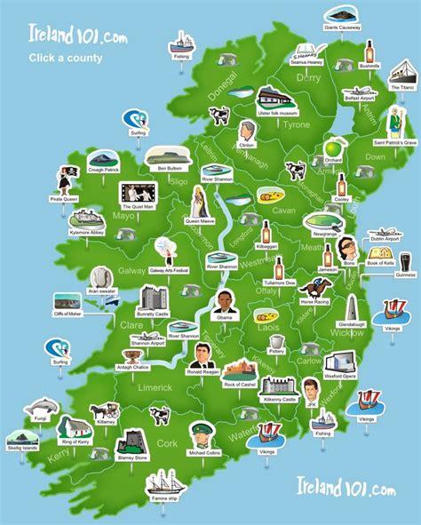 county cork ireland map ireland 101 map of ireland simplistic but easy to