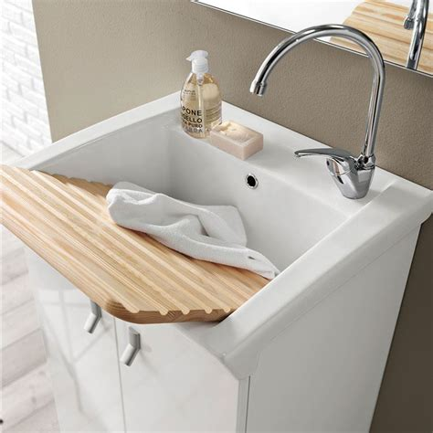 vasca per lavanderia vendita di lavatoio bianco lucido lavatoio