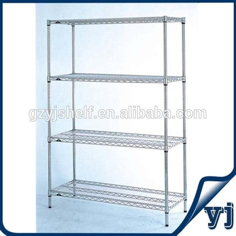 Wire Shelf System by Chrome Shelving System Industrial Wire Shelving Units Wire