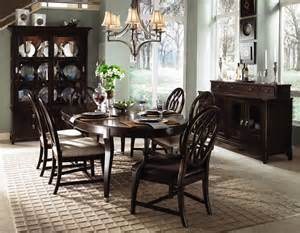 kincaid dining room sets kincaid alston solid wood oval leg table dining room set