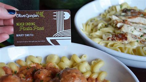 olive garden pasta pass olive garden snags 2 1m in 1 second offer