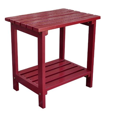 Two Tier Small Side Table In Patio Side Tables Patio Side Tables