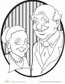 Familien Ideen 4184 by Grandparents Coloring Page Grandparents