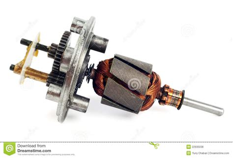 Electric Motor Rotor by Electric Motor Rotor Royalty Free Stock Photos Image