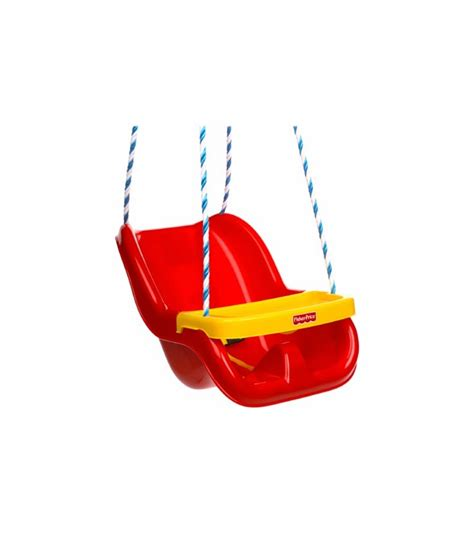 fisher price red swing fisher price infant to toddler swing in red