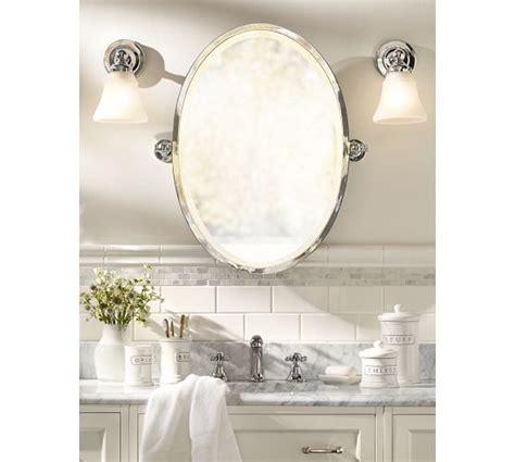 How To Frame An Oval Bathroom Mirror Best 25 Oval Bathroom Mirror Ideas On Pinterest Half