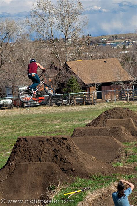 backyard bmx dirt jumps sunday funday backyard bash has everyone pushing limits