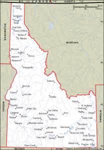 idaho towns map rexburg idaho map