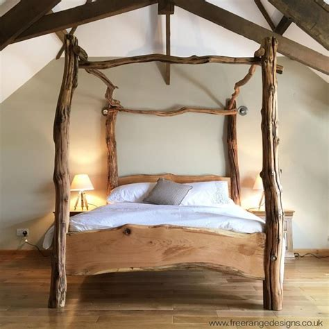 wooden post bed frames 25 best ideas about tree bed on beds for