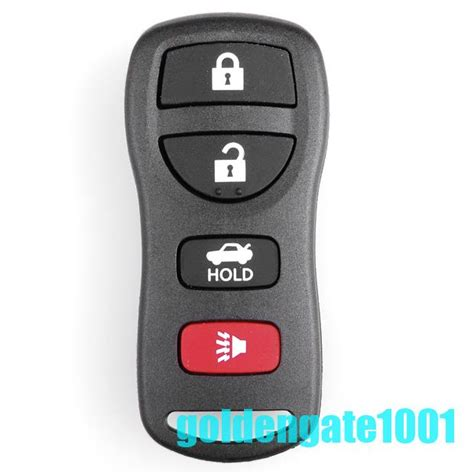 battery for 2003 nissan altima replacement keyless entry remote key fob for nissan altima