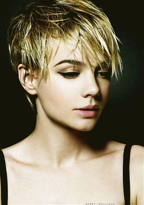 Make Up Pixy 1 Paket carey mulligan ideas for when my hair grows back
