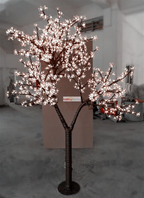 cute design 7ft led cherry tree light christmas light tree