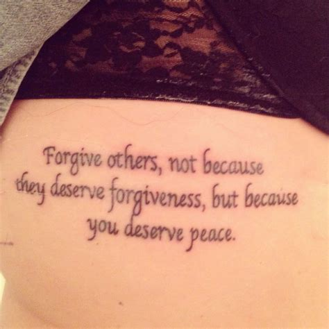 forgive tattoo my new forgive tattoos
