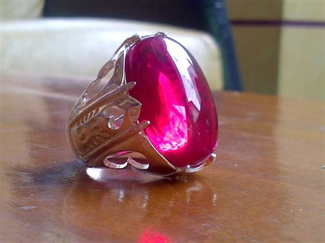 cara mendapatkan batu merah delima mustika cincin dan
