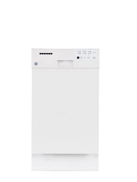 ge 18 inch built in dishwasher with stainless steel tub in