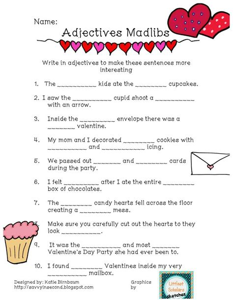 valentines day adjectives 13 best images about mad libs on thanksgiving