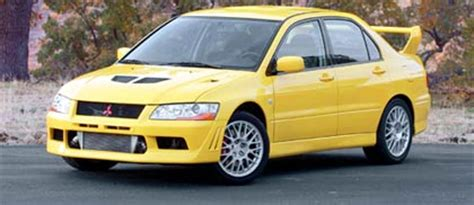2002 mitsubishi lancer evolution vii first test motor trend