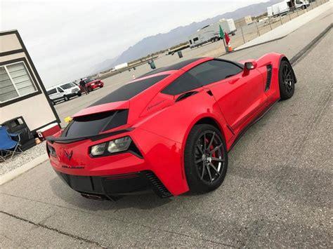 Corvette C7 Grand Sport Tieferlegung by Callaway Cars Corvette C7 Aerowagen 2017 Tuning 5