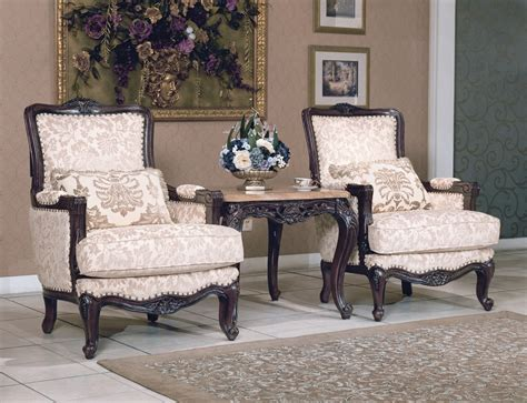 traditional living room chairs tanner traditional luxury formal living room furniture set