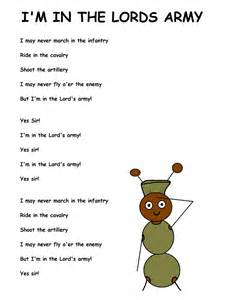 Song Template by Im In The Army Lyrics