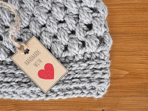 Tags For Handmade Crochet Items - free printable tags for handmade crochet items
