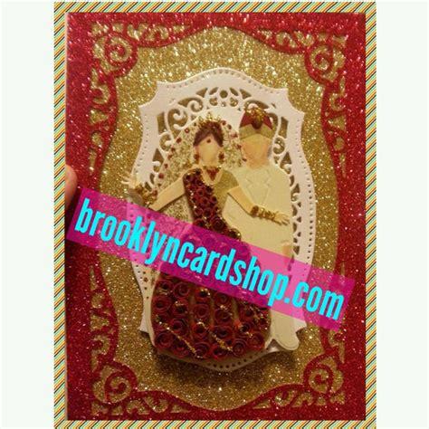 Indian Handmade Gifts - handmade wedding card traditional bengali by brooklyncardshop