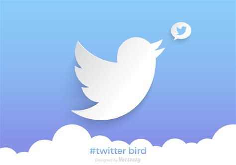 twitter layout vector free twitter bird vector background download free vector