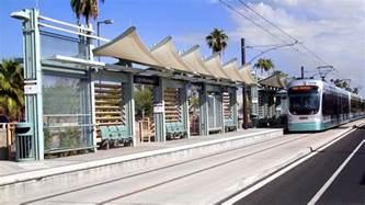 valley metro rail light rail station finishes